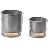 Morro Metal Pots - Set of 2