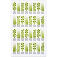 Jangneus Design Herbs Tea Towel - Green