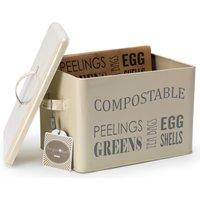 Compost Bin - Cream