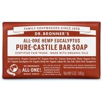 Dr Bronner Organic Eucalyptus Soap Bar - 140g