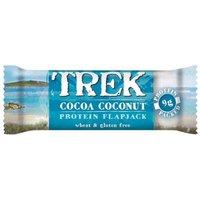 Trek Protein Flapjack Bar - Cocoa & Coconut - 50g.