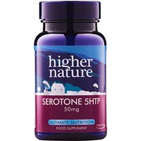 Higher Nature Serotone 5HTP Natural Food Supplement - 100mg - 90 Tablets