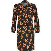 Nancy Dee Frida Orange Poppies Dress