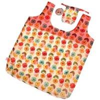 Mid-Century Poppy Foldaway Bag