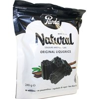 Panda Original Liquorice Cuts Bag - 240g.