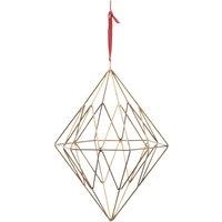 Talini Diamond - Antique Brass - Large