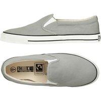 Ethletic Fairtrade Deck Shoes - Urban Grey