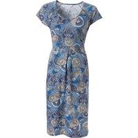 Nomads Short Sleeve Jersey Dress - Denim
