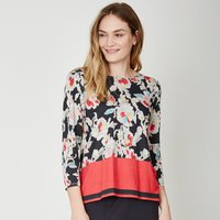 Thought Baret Floral Print Top