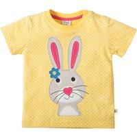 Frugi Little Cove Yellow Rabbit T-Shirt
