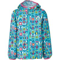 Frugi Puddle Buster Packaway Jacket - Bumble Bloom Bee