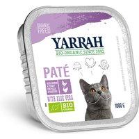 'Yarrah Organic Cat Food - Chicken & Turkey Pate With Aloe Vera 100g