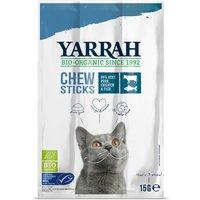 Yarrah Organic Fish Chewsticks With Seaweed & Spirulina For Cats 15g.