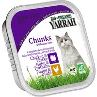 Yarrah Organic Chicken & Turkey Cat Food With Aloe Vera 100g