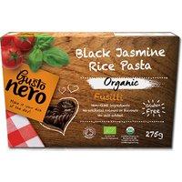 Gusto Nero Organic Black Jasmine Rice Pasta - Fusilli - 275g