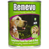 Benevo Duo - Moist Vegan Tinned Cat & Dog Food - 362g.