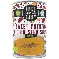 Free & Easy Organic Sweet Potato & Chia Seed Soup - 400g