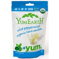YumEarth Organic Wild Peppermint Boiled Sweets - 93.5g