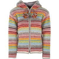 Womens Hoxton Stripe Hooded Jacket - Multi Coloured
