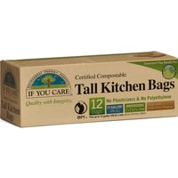 If You Care Compostable Tall Bin Bags - 49L - 12 Bags