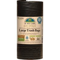 If You Care Recycled Large Drawstring Bin Bags - 136L - 10 Bags.