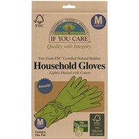 If You Care Fair Rubber Latex Household Gloves.