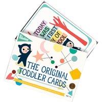 Milestone Toddler Cards Set