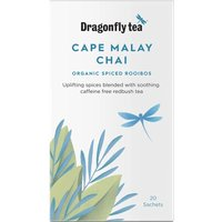 Dragonfly Teas Cape Malay Organic Rooibos Chai Tea - 20 Bags.