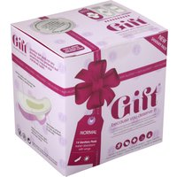 Gift Wellness Sanitary Pads with Wings - Normal - Pack of 14