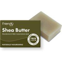 Friendly Soap Natural Shea Butter Facial Soap Bar - 95g.