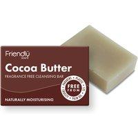 Friendly Soap Natural Cocoa Butter Facial Soap Bar - 95g.