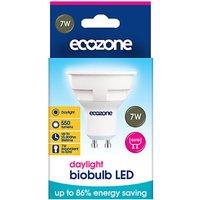 Ecozone GU10 Daylight LED Biobulb - 7 Watt - 50 Watt Equivalent