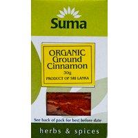 Suma Organic Cinnamon Ground 30g