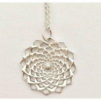 Inkana Silver Flower Necklace