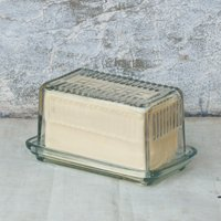 'Beurre' Glass Butter Dish