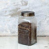 Glass The Jar Tea Jar