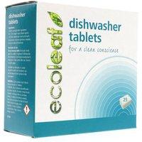 Ecoleaf Dishwasher Tablets - 25 Tablets