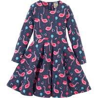 Frugi Sofia Flamingo Skater Dress