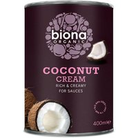 Biona Organic Coconut Cream - 400ml