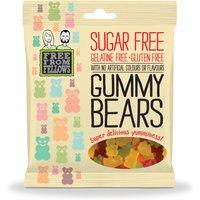 Free From Fellows Vegan Sugar Free Gummy Bear Sweets - 100g