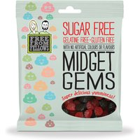Free From Fellows Vegan Sugar Free Midget Gem Sweets - 100g at Natural Collection