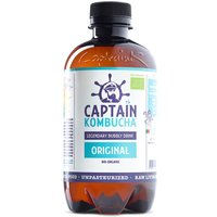 Captain Kombucha Bio-Organic Bubbly Drink - Original - 400ml