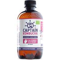 Captain Kombucha Bio-Organic Bubbly Drink - Raspberry - 400ml