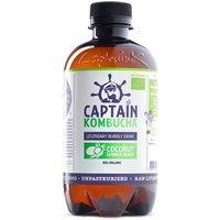 Captain Kombucha Bio-Organic Bubbly Drink - Coconut - 400ml