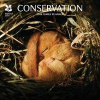 National Trust Conservation 2018 Wall Calendar