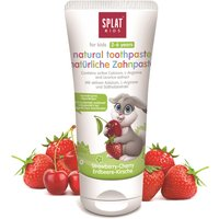 Splat Natural Kids Fluoride Free Toothpaste - Strawberry Cherry - 50ml