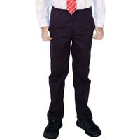 Boys Classic Fit Trousers - Black - 3yrs+