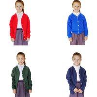 Organic Cotton School Cardigan - 9yrs+