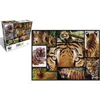 WWF 1000 Piece Jigsaw Puzzle - Tigers