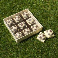 Handmade Chocolate Footballs x 9